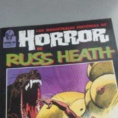 Cómics: X RUSS HEATH LAS MAGISTRALES HISTORIAS DE HORROR (TOUTAIN). Lote 235153015