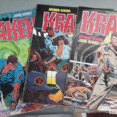 Cómics: X KRAKEN 1 A 3 (COMPLETA), DE BERNET (TOUTAIN). Lote 235154785