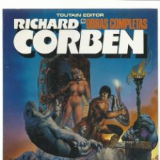 Cómics: RICHARD CORBEN, OBRAS COMPLETAS 10: PILGOR, 1990, TOUTAIN, MUY BUEN ESTADO. Lote 235257970