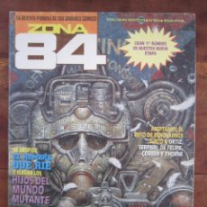 Cómics: ZONA 84 Nº 84. CORBEN FRAZETTA, THORNE, DE FELIPE, ETC, TOUTAIN EDITOR 1984. Lote 235421150