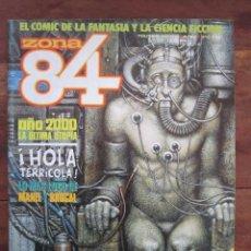 Cómics: ZONA 84 Nº 82. MILAZZO. DEUM, BROCAL, DE FELIPE, ETC, TOUTAIN EDITOR 1984. Lote 235421385