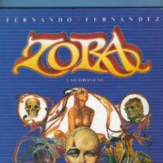 Cómics: ZORA Y LOS HIBERNAUTAS - NOVELA GRÁFICA - FERNANDO FERNÁNDEZ. Lote 235471915