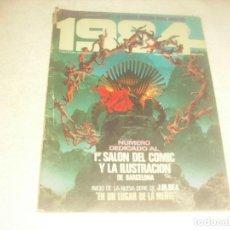 Cómics: 1984 N. 29 . EL COMIC DE LA FANTASIA Y LA CIENCIA FICCION. NUMERO DEDICADO AL 1 SALON DEL COMIC.. Lote 235660385