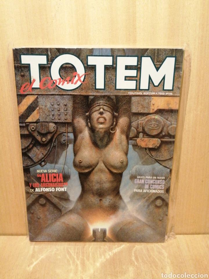 TOTEM EL COMIX. NUM 19-21. TOUTAIN EDITOR. (Tebeos y Comics - Toutain - Otros)