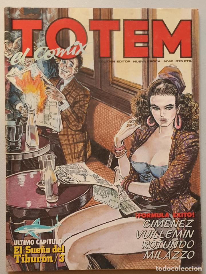 TOTEM EL COMIX #48 (TOUTAIN, 1990) (Tebeos y Comics - Toutain - Otros)