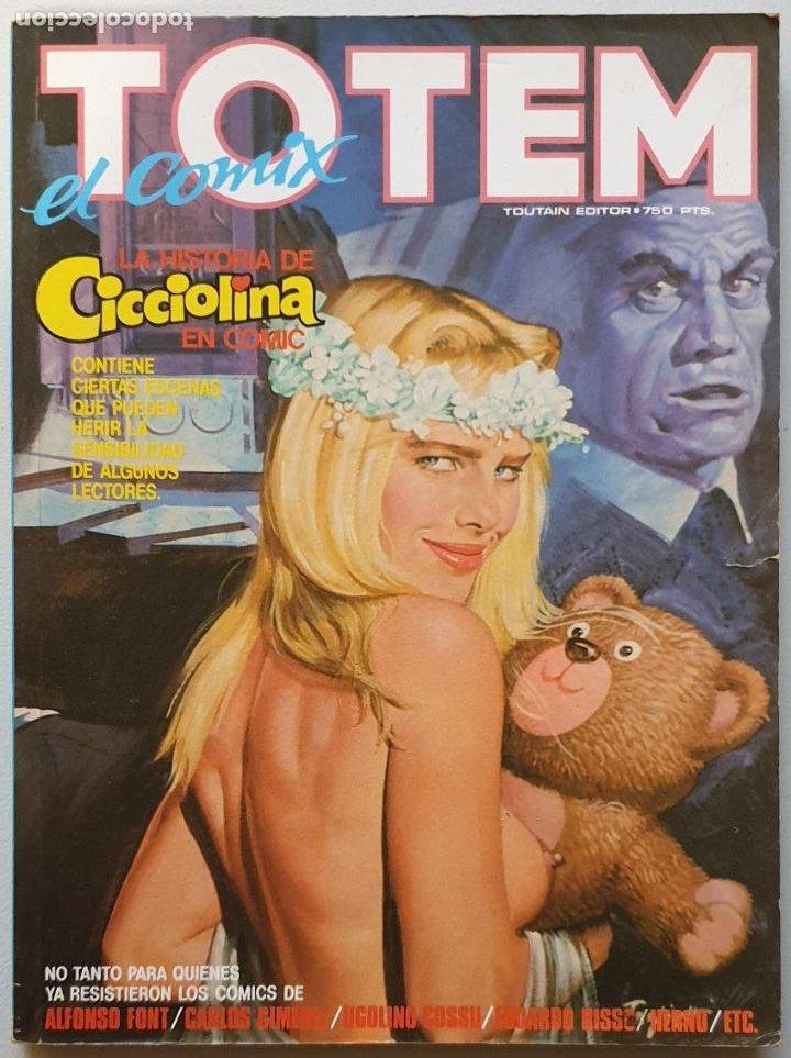 RETAPADO TOTEM EL COMIX #22, 23 Y 24 (TOUTAIN, 1988) (Tebeos y Comics - Toutain - Otros)