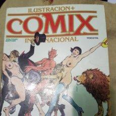 Cómics: COMIC COMIX INTERNACIONAL ESPECIAL EROTICO 57,58 Y 59. Lote 235814820