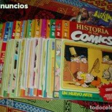 Cómics: HISTORIA DE LOS CÓMICS COMPLETA 48 COMICS. Lote 235822345