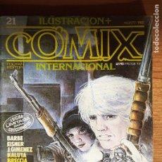 Cómics: COMIX INTERNACIONAL Nº 21. EDICIÓN LIMITADA. TOUTAIN AGOSTO 1982. BUENO. Lote 235904880