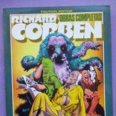 Cómics: RICHARD CORBEN UNDERGROUND Nº 2 , OBRAS COMPLETAS Nº 5 ¡¡¡ EXCELENTE ESTADO!!!. Lote 236004650