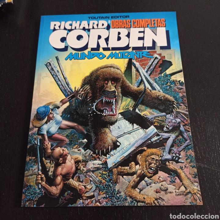 MUNDO MUTANTE - RICHARD CORBEN (Tebeos y Comics - Toutain - Obras Completas)