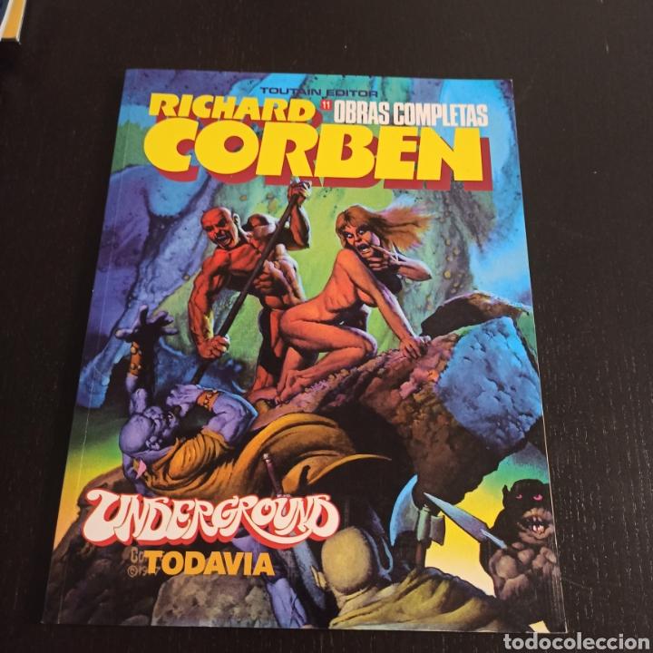 UNDERGROUND TODAVÍA - RICHARD CORBEN (Tebeos y Comics - Toutain - Obras Completas)