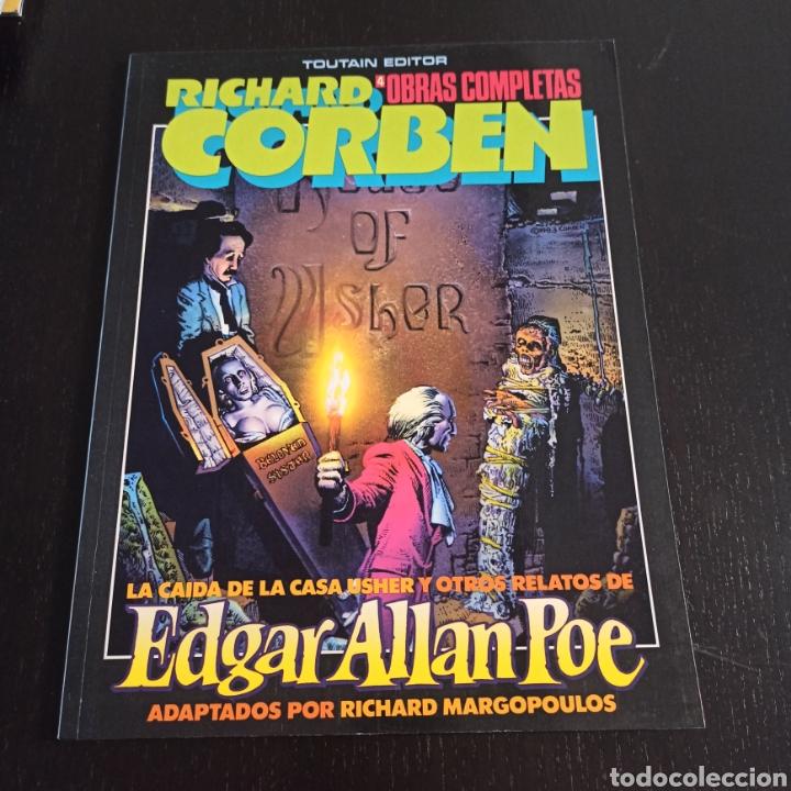 LA CAÍDA DE LA CASA USHER Y OTROS RELATOS DE EDGAR ALLAN POE (Tebeos y Comics - Toutain - Obras Completas)