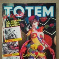 Cómics: TÓTEM EL CÓMIX NUEVA ÉPOCA N°5 (TOUTAIN, 1987). 84 PÁGINAS A COLOR Y B/N.. Lote 236393635