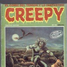 Cómics: 13 COMICS DE CREEPY EDITOR TOUTAIN AÑO 1970-1979 N,65-5-3-54-67-68-6-4-2-34-52-55-13 EPOCA 5-. Lote 236675235