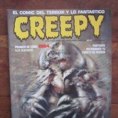 Cómics: CREEPY Nº 17. SEGUNDA ÉPOCA. EL COMIC DEL TERROR Y LO FANTÁSTICO. TOUTAIN EDITOR 1990. Lote 236757400
