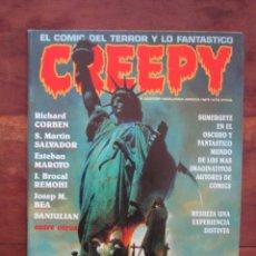 Cómics: CREEPY Nº 7. SEGUNDA ÉPOCA. EL COMIC DEL TERROR Y LO FANTÁSTICO. TOUTAIN EDITOR 1990. Lote 236759005
