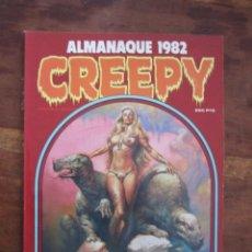 Cómics: CREEPY ALMANAQUE 1982 RICHARD CORBEN, WILL EISNER, ETC. TOUTAIN EDITOR 1982. Lote 236761160