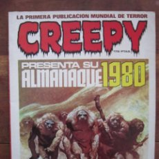 Cómics: CREEPY ALMANAQUE 1980 RICHARD CORBEN, SEVERIN, ETC. TOUTAIN EDITOR 1980. Lote 236763000