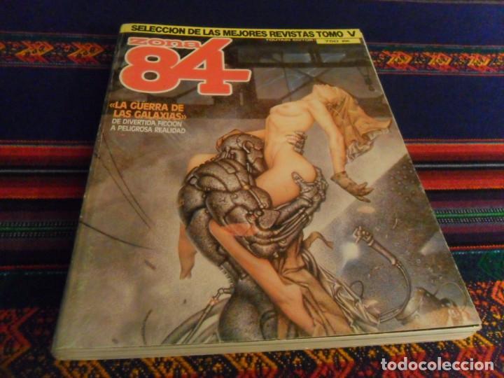 Cómics: ZONA 84 TOMO V CON NºS 12 5 10 31. TOUTAIN EDITOR 1984 750 PTS. LA GUERRA DE LAS GALAXIAS. - Foto 2 - 236867015