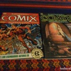 Comics: COMIX INTERNACIONAL NºS 1, 15 Y 42. TOUTAIN EDITOR 1980. 150 PTS. BUEN ESTADO.. Lote 20695665
