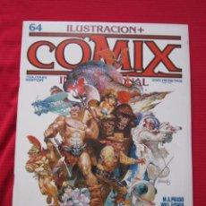 Cómics: ILUSTRACION + COMIX INTERNACIONAL. Nº 64. BRECCIA, EISNER, SCHULTHEIS, ETC. TOUTAIN EDITOR EXCELENTE. Lote 236899070