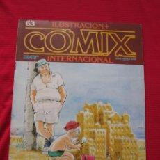 Cómics: ILUSTRACION + COMIX INTERNACIONAL. Nº 63. BRECCIA, EISNER, SCHULTHEIS, ETC. TOUTAIN EDITOR. Lote 236899210