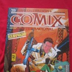 Cómics: ILUSTRACION + COMIX INTERNACIONAL. Nº 59. BRECCIA, EISNER, SCHULTHEIS, ETC. TOUTAIN EDITOR. Lote 236899635