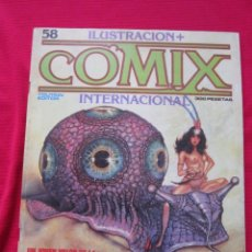 Cómics: ILUSTRACION + COMIX INTERNACIONAL. Nº 58. BRECCIA, EISNER, SCHULTHEIS, ETC. TOUTAIN EDITOR. Lote 236899820