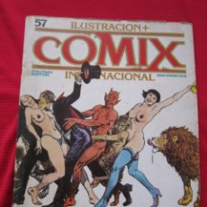 Cómics: ILUSTRACION + COMIX INTERNACIONAL. Nº 57. BRECCIA, EISNER, SCHULTHEIS, ETC. TOUTAIN EDITOR. Lote 236900130