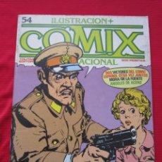 Cómics: ILUSTRACION + COMIX INTERNACIONAL. Nº 54. BRECCIA, EISNER, ALTUNA, ETC. TOUTAIN EDITOR. Lote 236943110