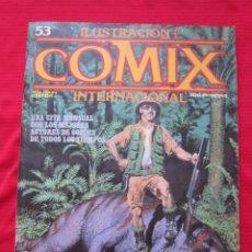 Cómics: ILUSTRACION + COMIX INTERNACIONAL. Nº 53. BRECCIA, EISNER, ALTUNA, CORBEN, ETC. TOUTAIN EDITOR. Lote 236943245