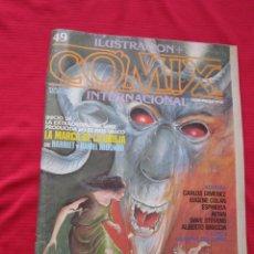 Cómics: ILUSTRACION + COMIX INTERNACIONAL. Nº 49. BRECCIA, EISNER, ALTUNA, ETC. TOUTAIN EDITOR. Lote 236943410
