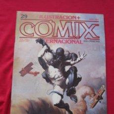 Cómics: ILUSTRACION + COMIX INTERNACIONAL. Nº 29. KEN KELLY, EISNER, LAUZIER, ETC. TOUTAIN EDITOR. Lote 236943910