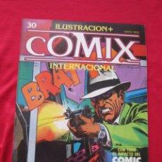 Cómics: ILUSTRACION + COMIX INTERNACIONAL. Nº 30. KEN KELLY, EISNER, LAUZIER, ETC. TOUTAIN EDITOR. Lote 236944010