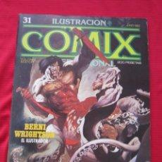 Cómics: ILUSTRACION + COMIX INTERNACIONAL. Nº 31. WRIGHTSON, EISNER, LAUZIER, ETC. TOUTAIN EDITOR. Lote 236944165
