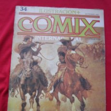 Cómics: ILUSTRACION + COMIX INTERNACIONAL. Nº 34. REMINGTON, EISNER, LAUZIER, ETC. TOUTAIN EDITOR. Lote 236944300
