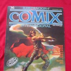 Cómics: ILUSTRACION + COMIX INTERNACIONAL. Nº 36. REMINGTON, EISNER, LAUZIER, ETC. TOUTAIN EDITOR. Lote 236944370