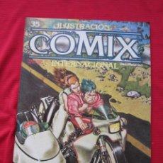 Cómics: ILUSTRACION + COMIX INTERNACIONAL. Nº 35. LIBERATORE, EISNER, LAUZIER, ETC. TOUTAIN EDITOR. Lote 236944485