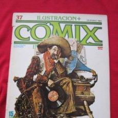 Cómics: ILUSTRACION + COMIX INTERNACIONAL. Nº 37. LIBERATORE, EISNER, LAUZIER, ETC. TOUTAIN EDITOR. Lote 236944670