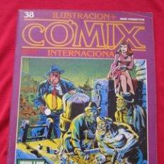 Cómics: ILUSTRACION + COMIX INTERNACIONAL. Nº 38. MANARA, EISNER, LAUZIER, ETC. TOUTAIN EDITOR. Lote 236944895