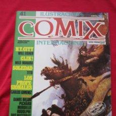 Cómics: ILUSTRACION + COMIX INTERNACIONAL. Nº 41. MANARA, EISNER, LAUZIER, ETC. TOUTAIN EDITOR. Lote 236945335