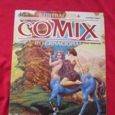 Cómics: ILUSTRACION + COMIX INTERNACIONAL. Nº 40. MANARA, EISNER, LAUZIER, ETC. TOUTAIN EDITOR. Lote 236945395