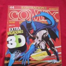 Cómics: ILUSTRACION + COMIX INTERNACIONAL. Nº 44. MANARA, EISNER, LAUZIER, ETC. TOUTAIN EDITOR. Lote 236945505