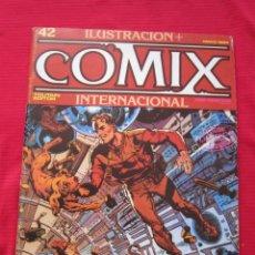 Cómics: ILUSTRACION + COMIX INTERNACIONAL. Nº 42. MANARA, EISNER, LAUZIER, ETC. TOUTAIN EDITOR. Lote 236945685