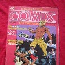 Cómics: ILUSTRACION + COMIX INTERNACIONAL. Nº 48. COLAN, EISNER, LAUZIER, ETC. TOUTAIN EDITOR. Lote 236946120