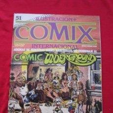 Cómics: ILUSTRACION + COMIX INTERNACIONAL. Nº 51. COLAN, EISNER, LAUZIER, ETC. TOUTAIN EDITOR. Lote 236946195