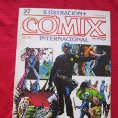 Cómics: ILUSTRACION + COMIX INTERNACIONAL. Nº 27. COLAN, EISNER, LAUZIER, ETC. TOUTAIN EDITOR. Lote 236946350