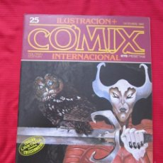 Cómics: ILUSTRACION + COMIX INTERNACIONAL. Nº 25. CHAYKIN, EISNER, SAURI, ETC. TOUTAIN EDITOR. Lote 236946510