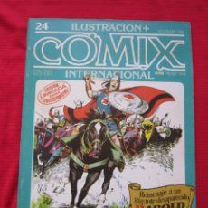 Cómics: ILUSTRACION + COMIX INTERNACIONAL. Nº 24. HAROLD FOSTER, EISNER, SAURI, ETC. TOUTAIN EDITOR. Lote 236946610